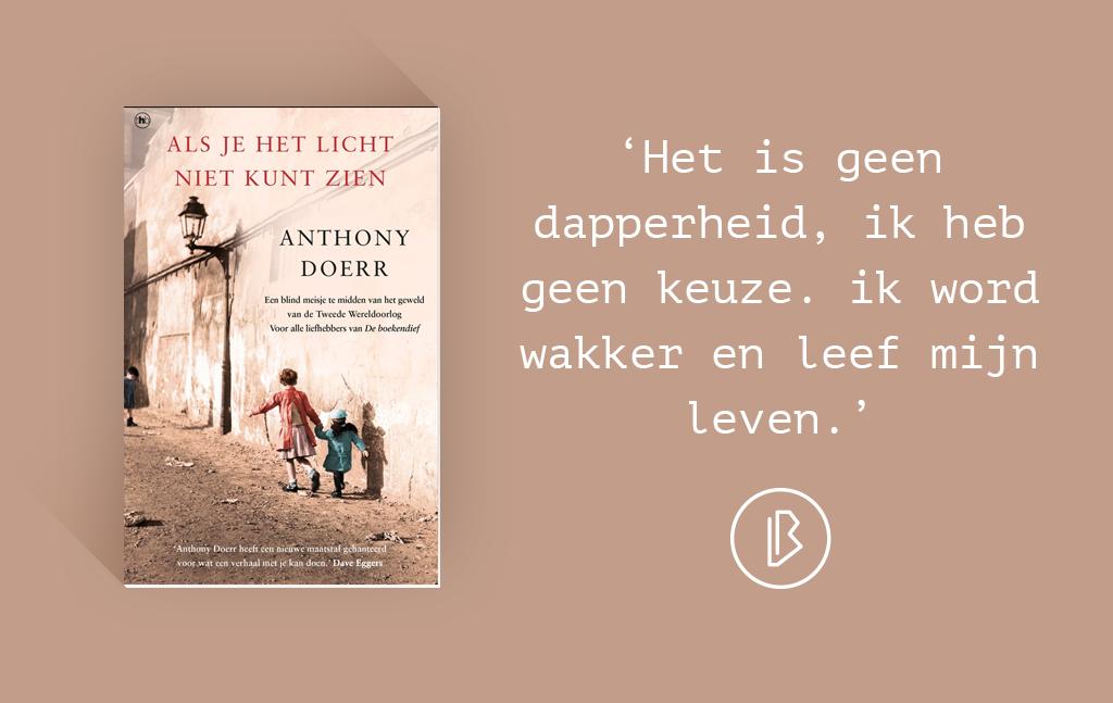 Recensie: Anthony Doerr – Als je het licht niet kunt zien