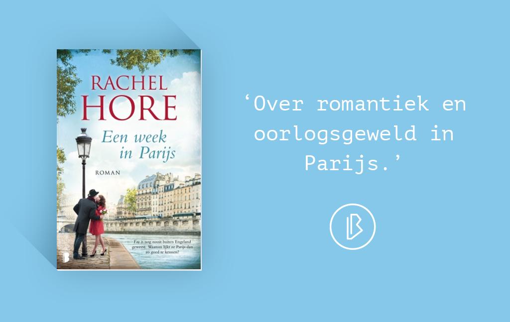 Recensie: Rachel Hore – Een week in Parijs