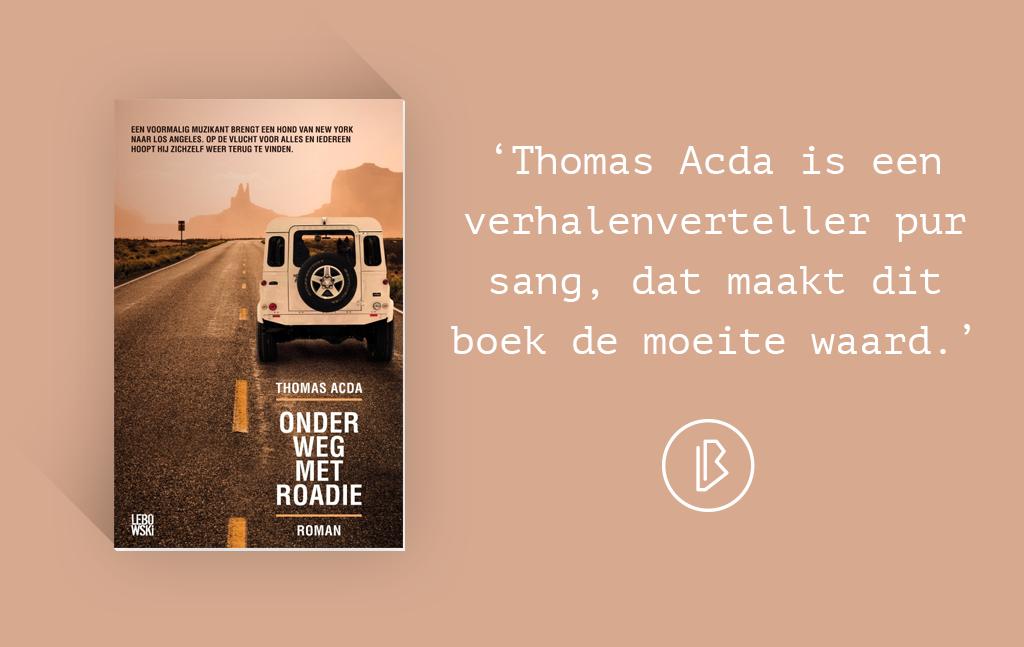 Recensie: Thomas Acda – Onderweg met Roadie