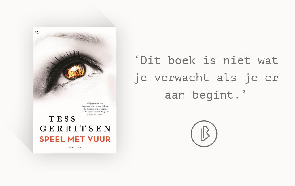 Recensie: Tess Gerritsen – Speel met vuur
