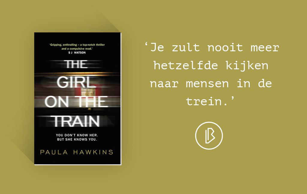 Recensie: Paula Hawkins – The Girl on the Train