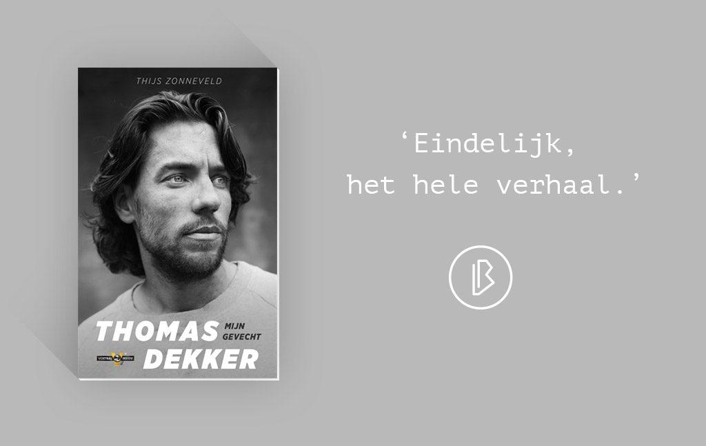 Recensie: Thijs Zonneveld – Thomas Dekker Mijn Gevecht