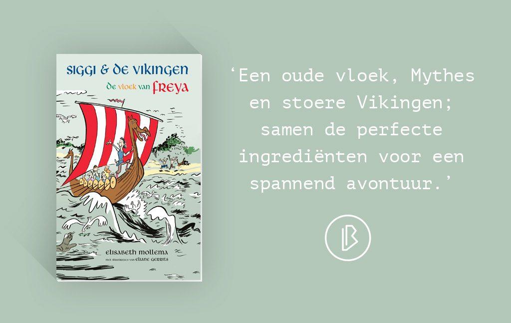 Recensie: Elisabeth Mollema – Sigi & de Vikingen, De vloek van Freya