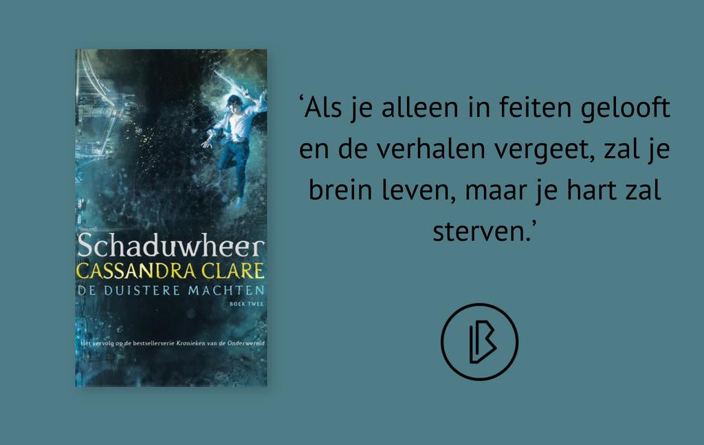 Recensie: Cassandra Clare – Schaduwheer