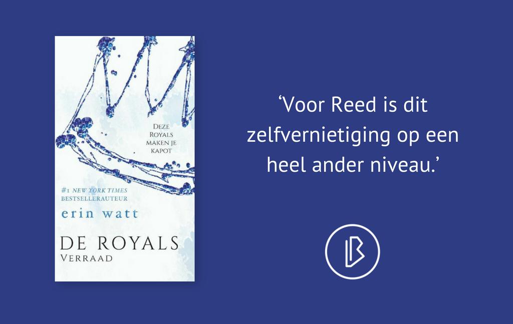 Recensie: Erin Watt – De Royals: Verraad