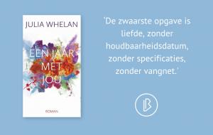 Recensie: Julia Whelan – Een jaar met jou