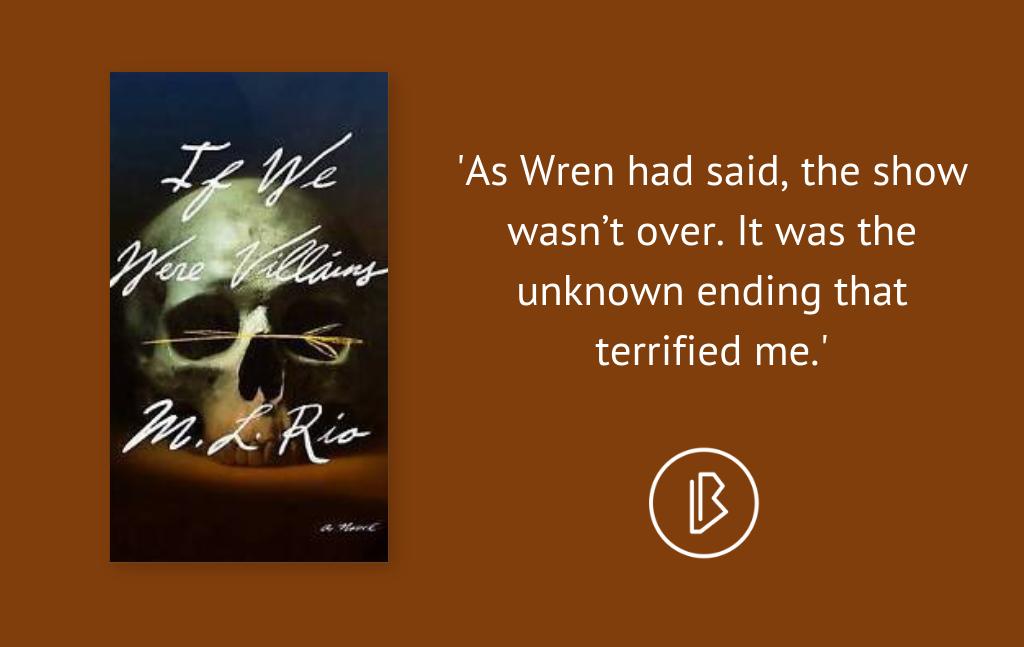 Recensie: M. L. Rio – If We Were Villains