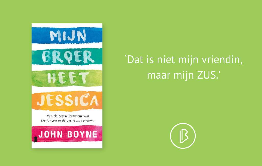 Recensie: John Boyne – Mijn broer heet Jessica