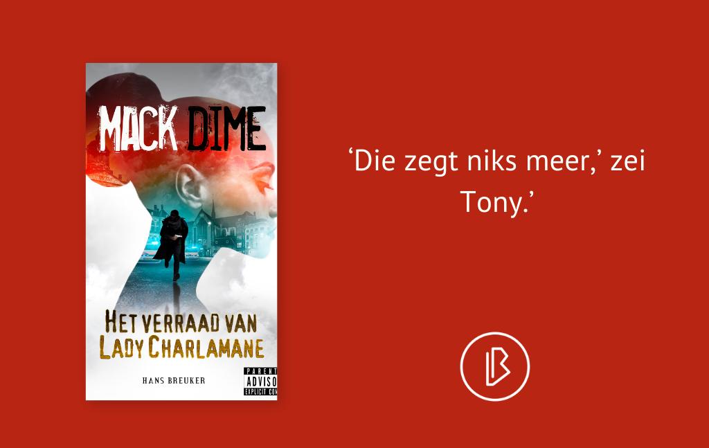 Recensie: Hans Breuker – Mack Dime, Het verraad van Lady Charlamane
