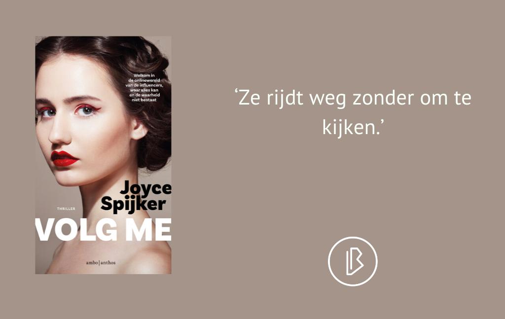 Recensie: Joyce Spijker – Volg me
