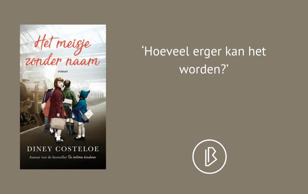 Recensie: Diney Costeloe – Het meisje zonder naam