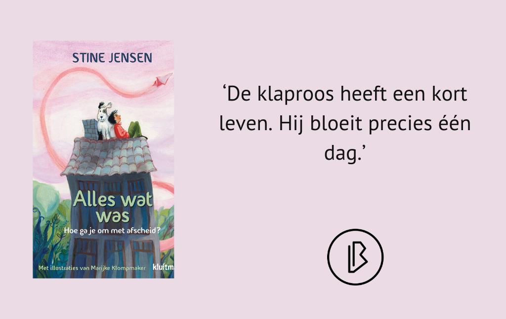 Recensie: Stine Jensen – Alles wat was