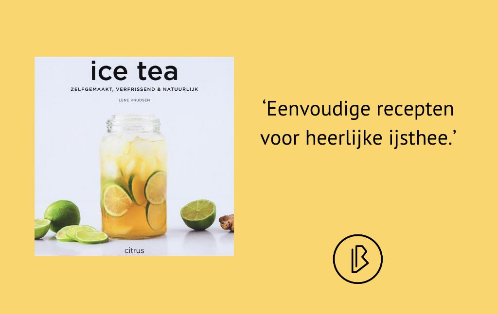 Recensie: Lene Knudsen – Ice tea; zelfgemaakt, verfrissend & natuurlijk