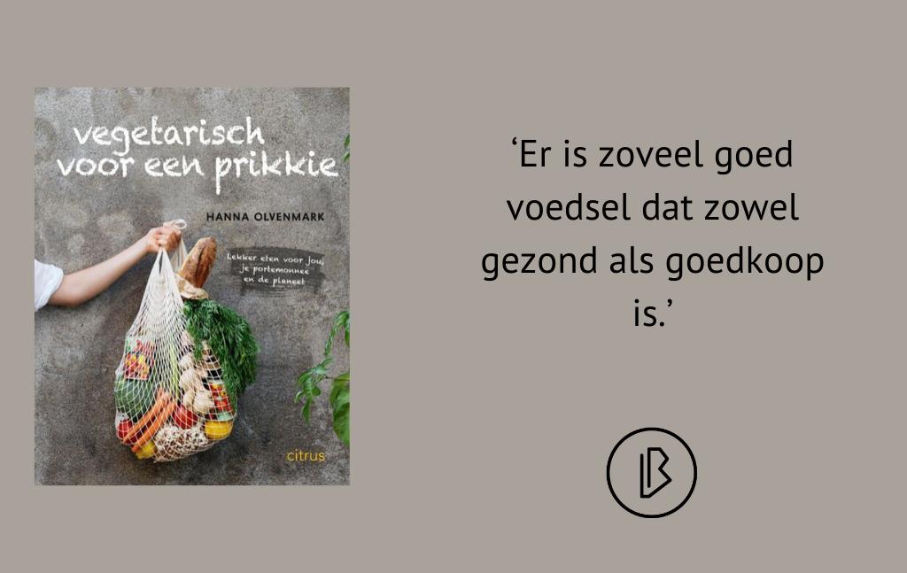 Recensie: Hanna Olvenmark – Vegetarisch voor een prikkie