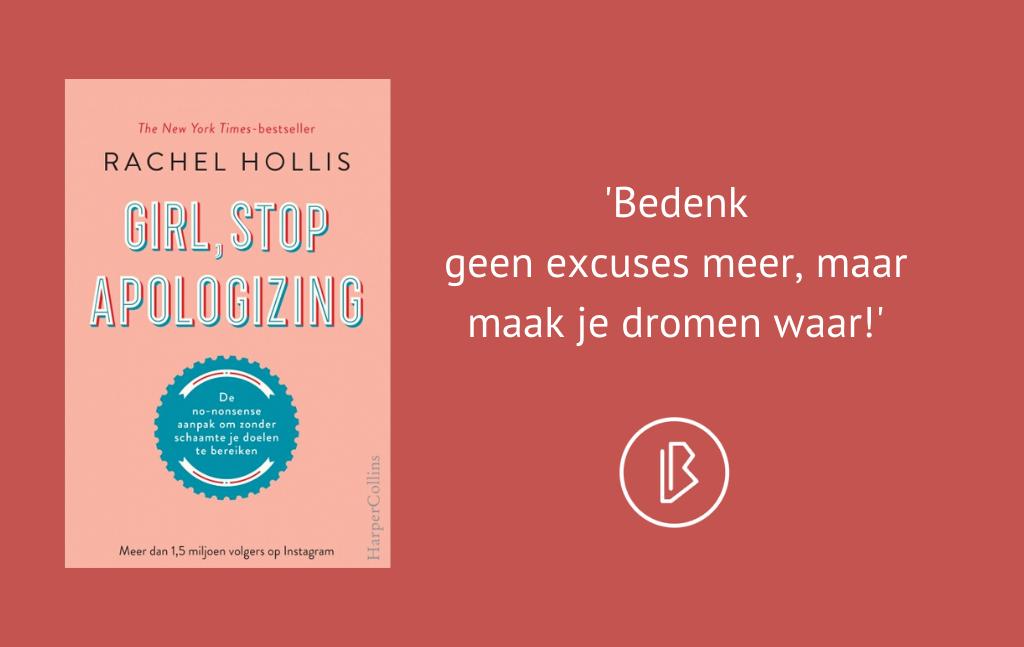 Recensie: Rachel Hollis – Girl, stop apologizing