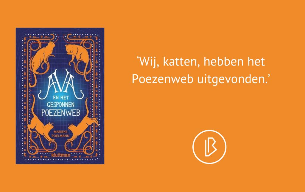 Recensie: Marieke Poelmann – Ava en het gesponnen poezenweb
