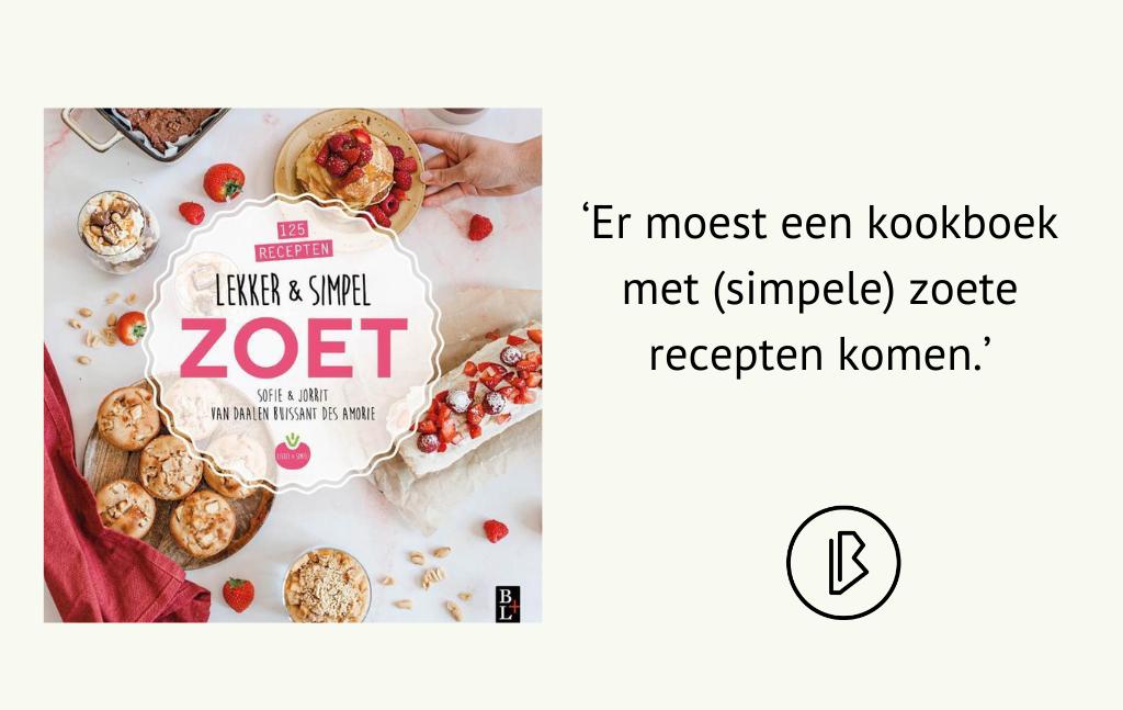 Recensie: Sofie & Jorrit Van Daalen Buissant des Amorie – Lekker & Simpel ZOET