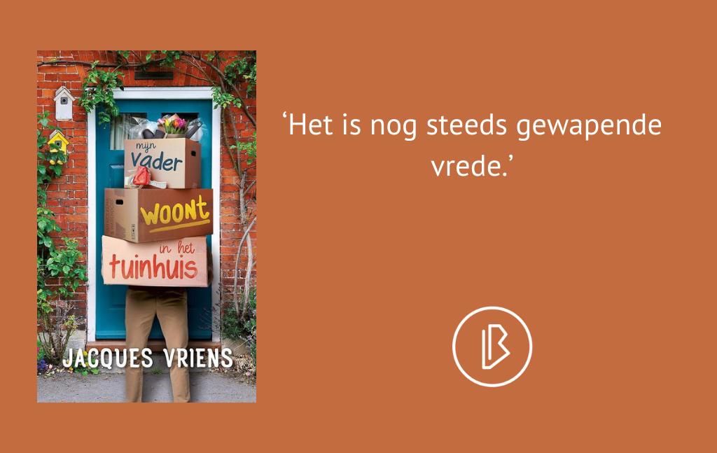 Recensie: Jacques Vriens – Mijn vader woont in het tuinhuis