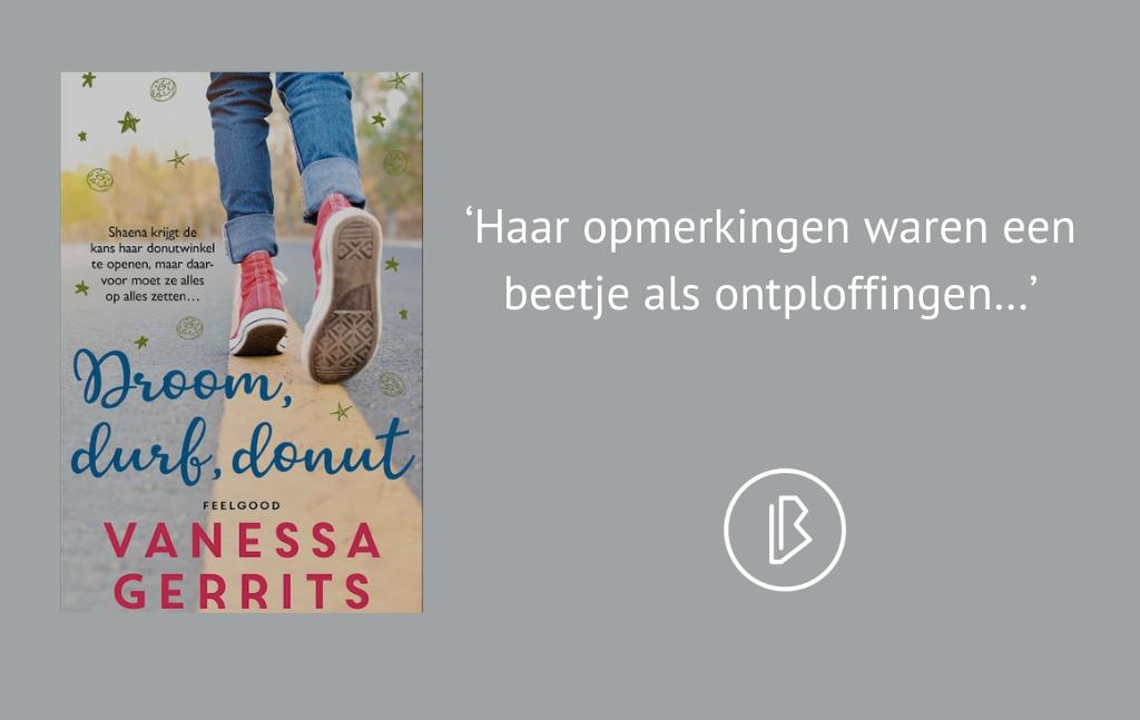 Recensie: Vanessa Gerrits – Droom, durf, donut (North Ness Inn deel 3)