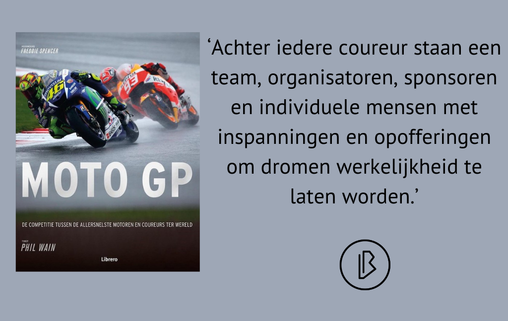 Recensie: Phil Wain – Moto GP