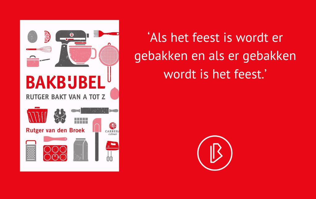 Recensie: Rutger van den Broek – Bakbijbel