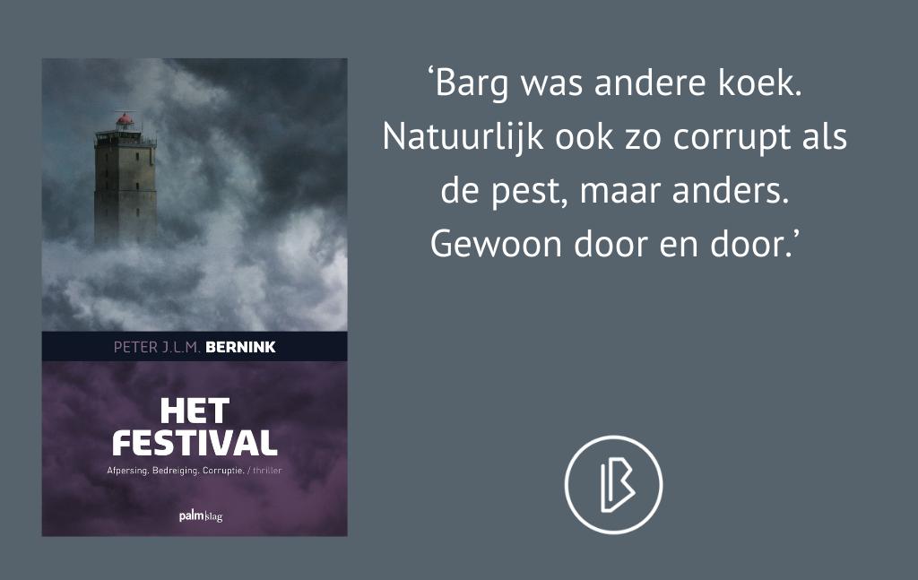 Recensie: Peter J.L.M. Bernink – Het Festival