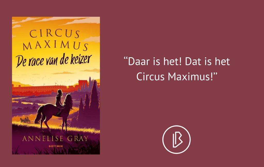 Recensie: Annelise Gray – Circus Maximus – De race van de keizer