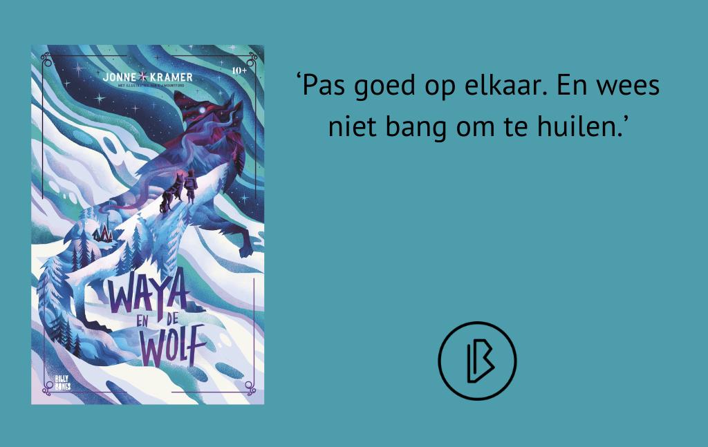 Recensie: Jonne Kramer – Waya en de wolf