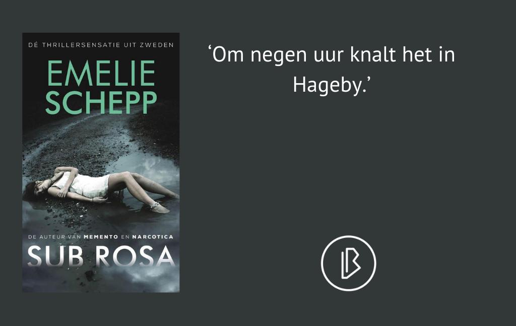 Recensie: Emelie Schepp – Sub Rosa