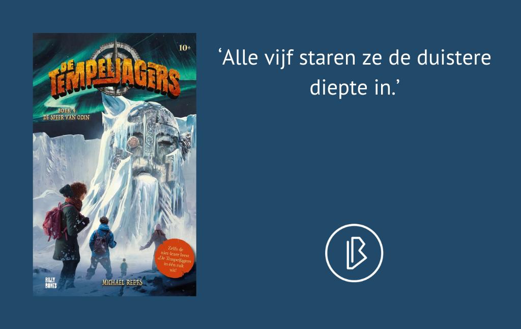 Recensie: Michael Reefs – De speer van Odin – De Tempeljagers 4